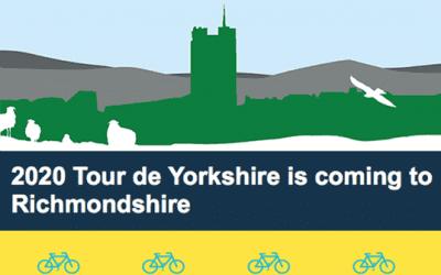 Tour de Yorkshire in Leyburn