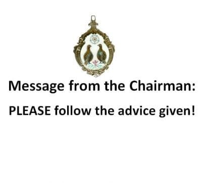 Message from the Chairman Richard Sanderson