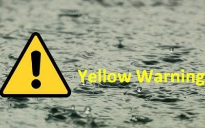 Yellow Weather Warning